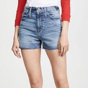 Madewell perfect vintage cutoff shorts